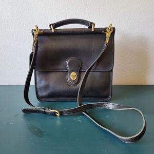 Vintage Coach Willis Crossbody Handbag  E4N-9927